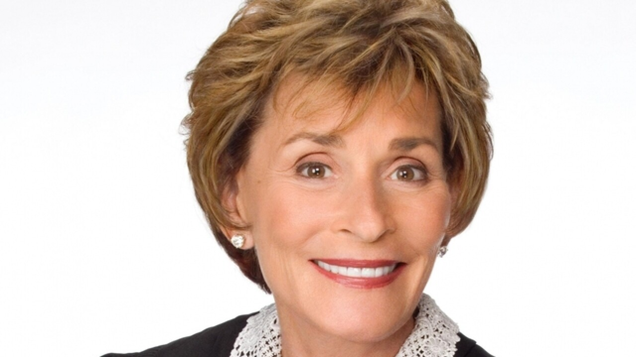 Judge Judy is coming to town to speak at local high school