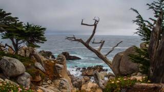 Monterey Bay area skies