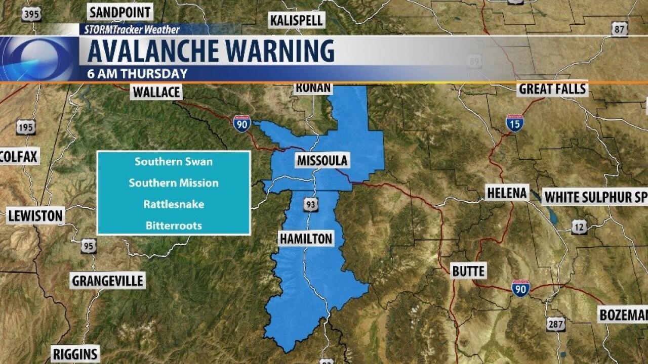 Avalanche Warning 1.1.20