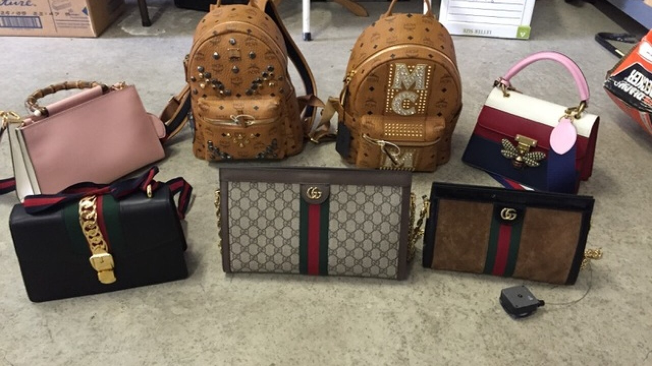 Saks theft suspect arrested with $14K of items
