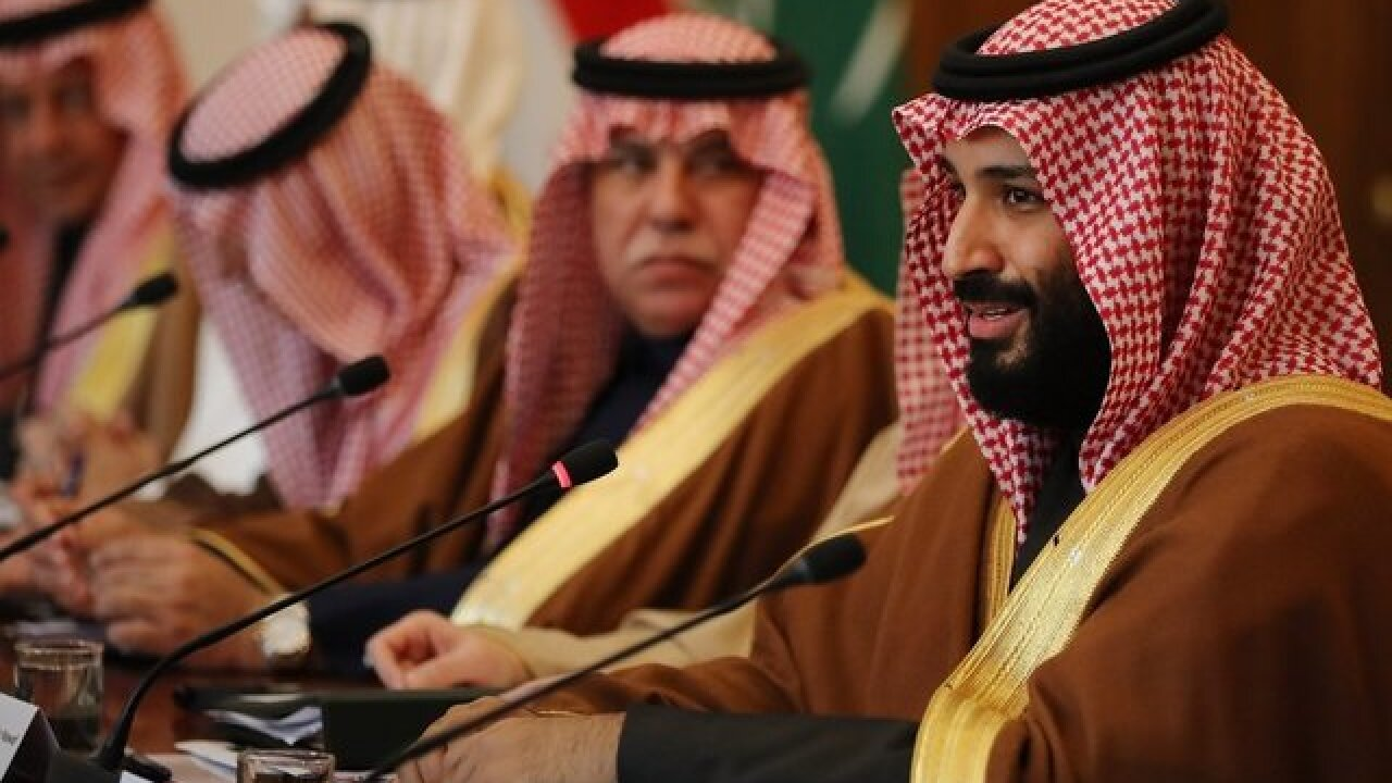 Leading senators push toward deal targeting Saudi Arabia