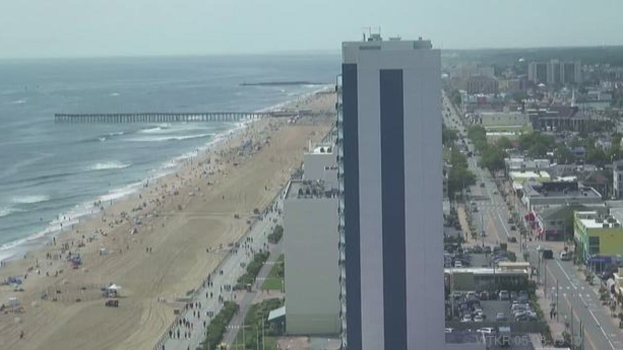 Saturday's First Warning Forecast: Near 80 at the beaches, even warmer inland
