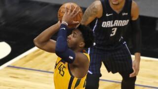 Jazz Magic Basketball