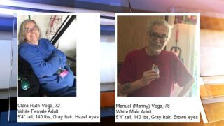 Missing couple believed to have been near McFarland on Sunday
