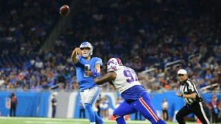 Matthew_Stafford_Buffalo Bills v Detroit Lions