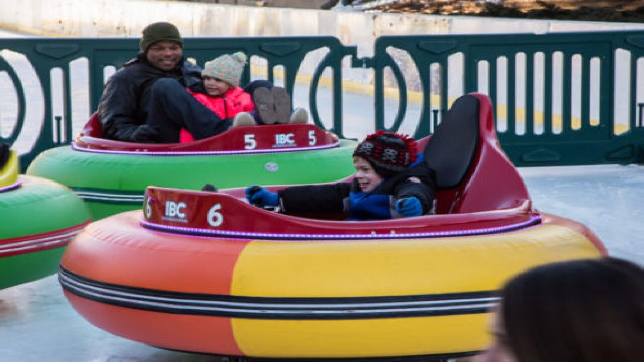 Ice Bumper Cars Are A Growing Trend, And They Look Like So Much Fun