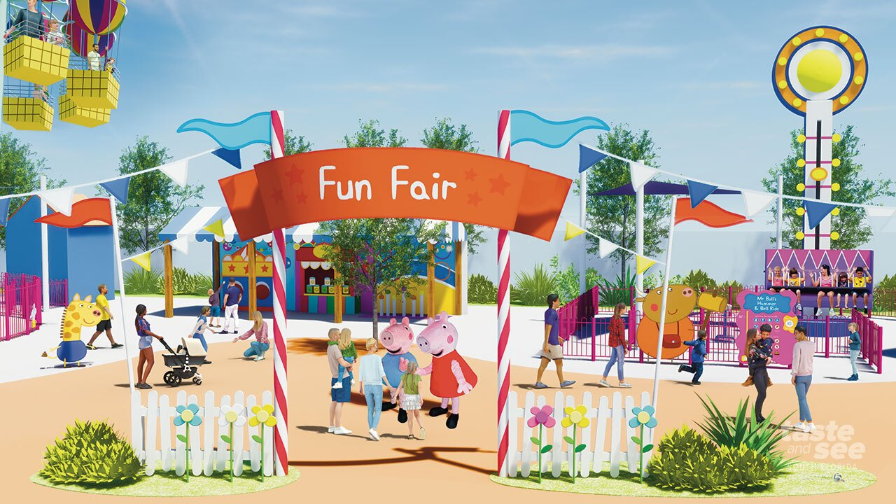 Peppa Pig Theme Park set to open in Winter Haven in 2022