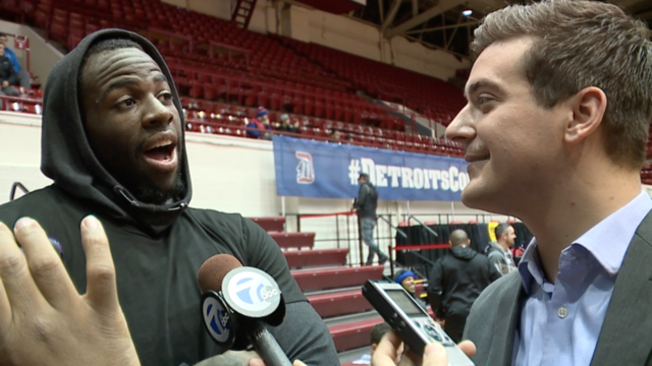 VIDEO: Draymond Green fired up to play first NBA game in Detroit
