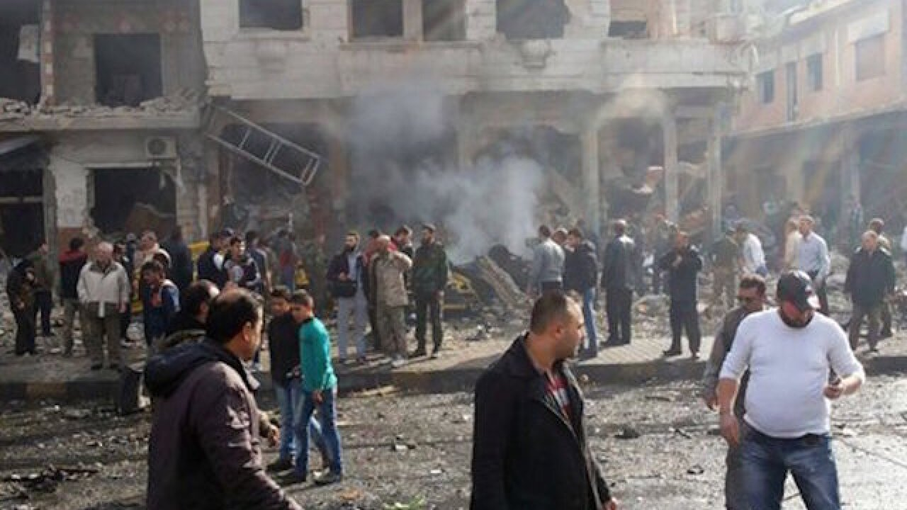 ISIS bombs kills 50 in Damascus
