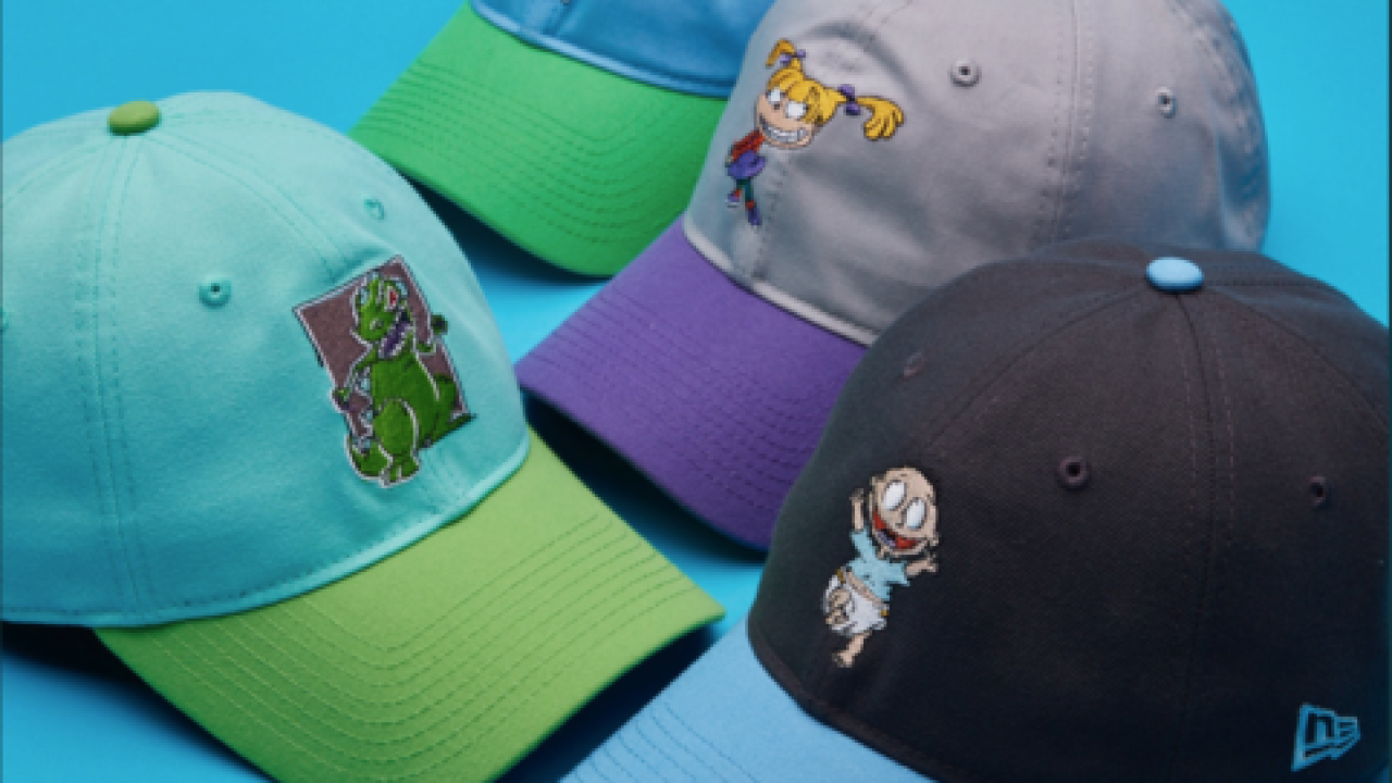 buy popular 82e23 8363f New Era Cap unveils Nickelodeon throwback caps