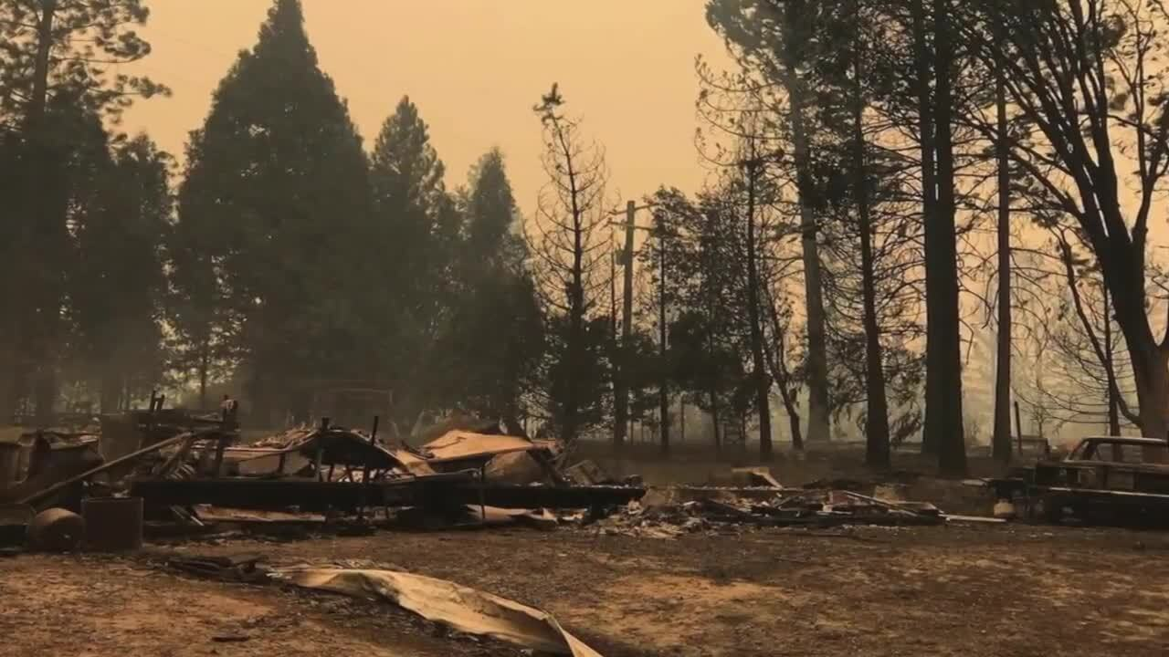 King grad's home burns in California wildfire