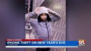 Crime Stoppers: Detectives Investigating iPhone Theft At New Year's Eve Party