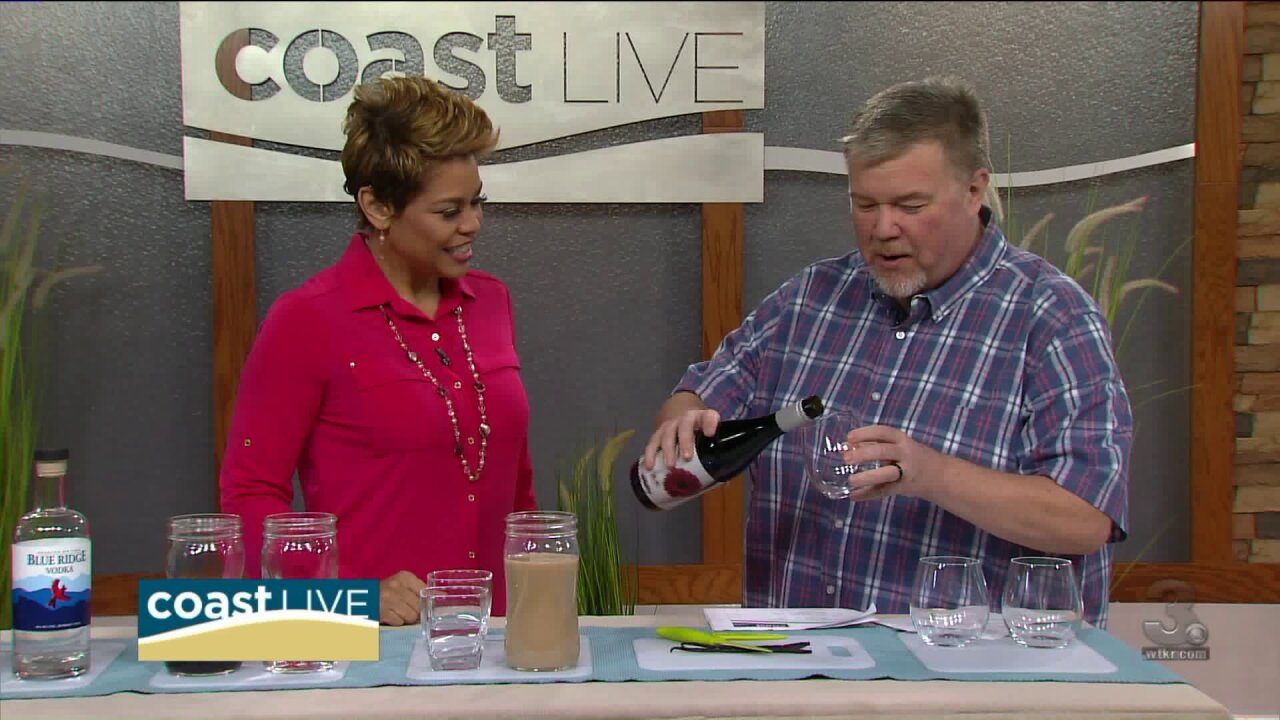 "Chef Patrick show us how to make a ""Chilly Leprechaun"" on Coast Live"