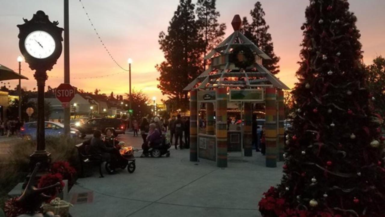 'La Mesa Shimmer' holiday lighting ceremony