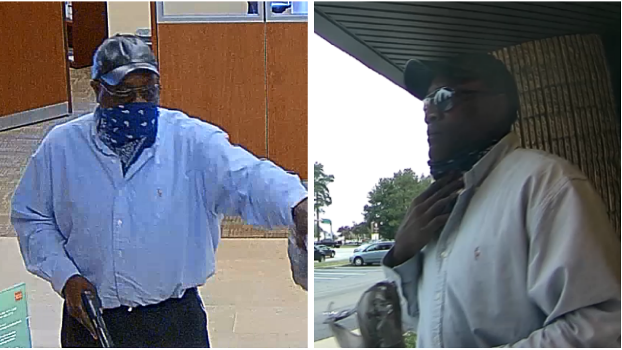 FBI offering $5,000 reward for help capturing Chesterfield bank robber