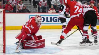 Coyotes beat Red Wings in Jimmy Howard's return