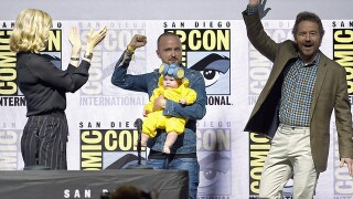 PHOTOS: Cast of 'Breaking Bad' reunites at Comic-Con 2018
