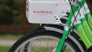Bikeshare in Plainfield.JPG