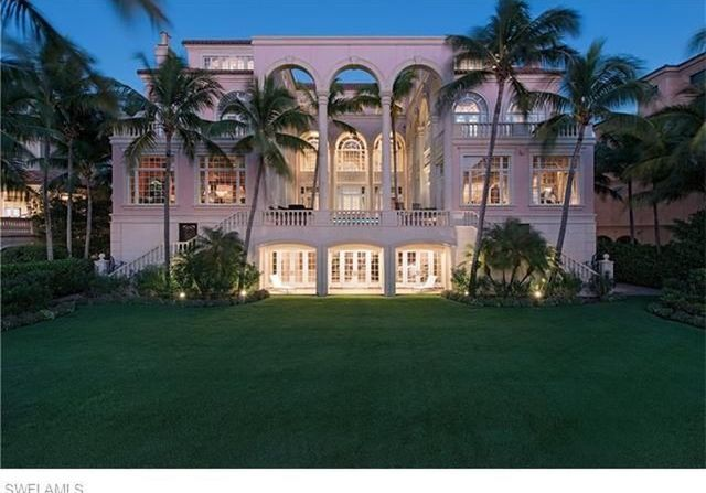 Pricey home: 12,505-square-foot Naples beachfront estate  on market for $25,900,000
