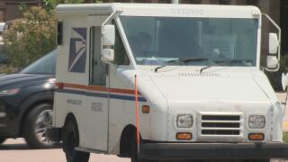 USPS Mail Car