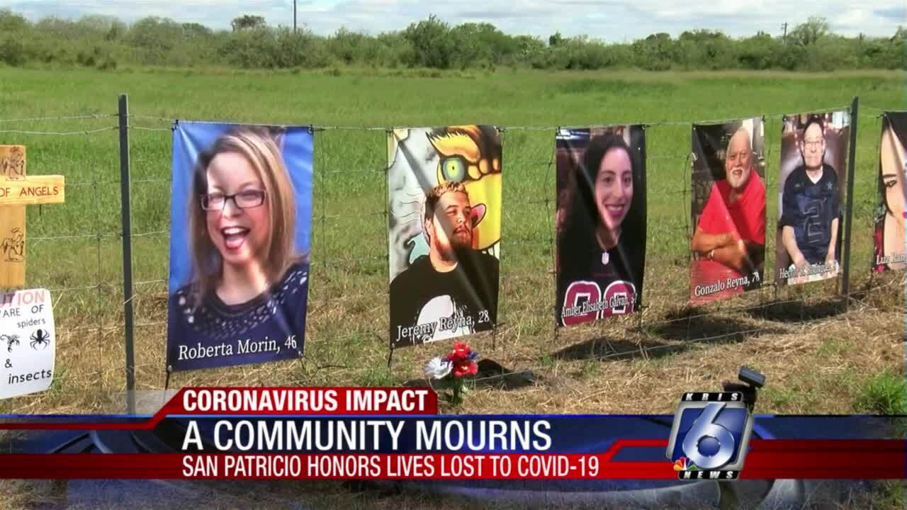 """Sinton's """"Acre of Angels"""" honors COVID-19 victims"""