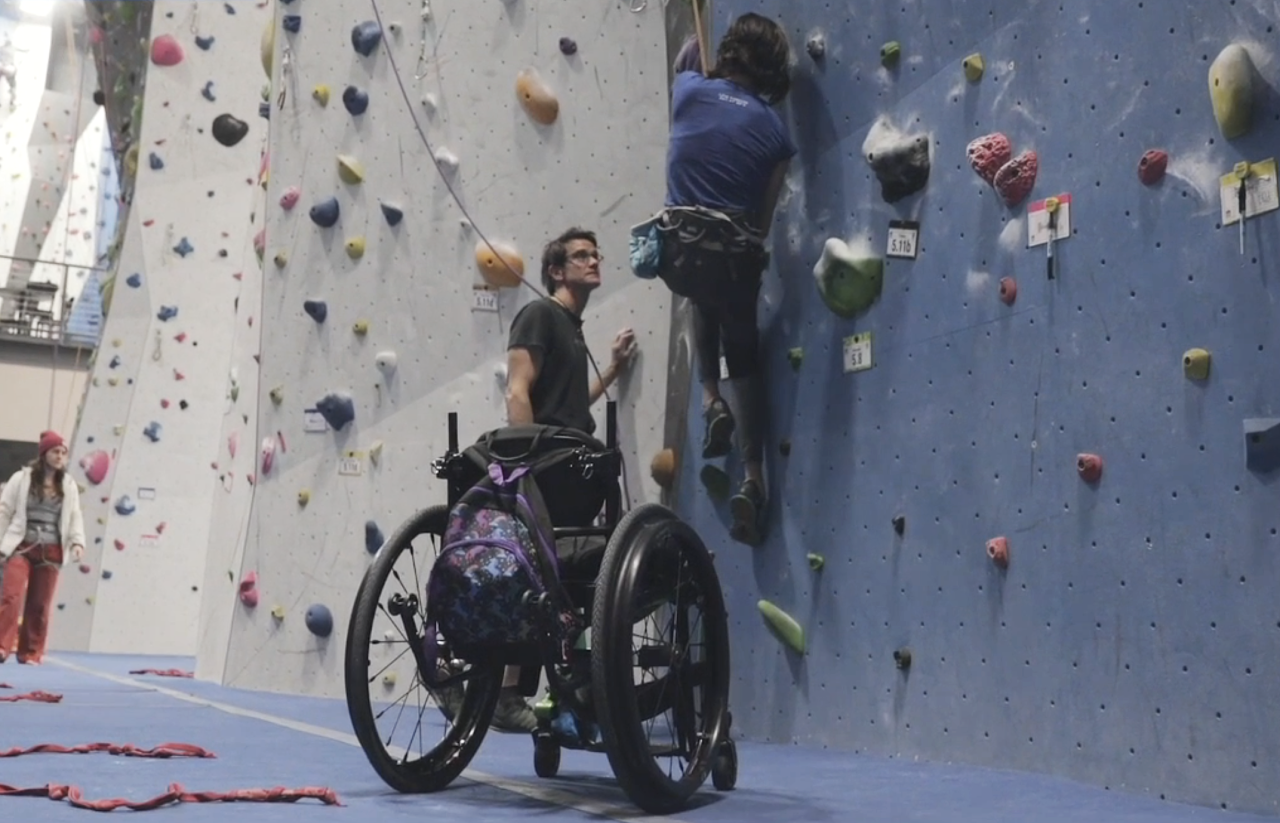 Craig DeMartino at Adaptive Adventures