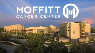 Moffitt volunteers pitching cancer research