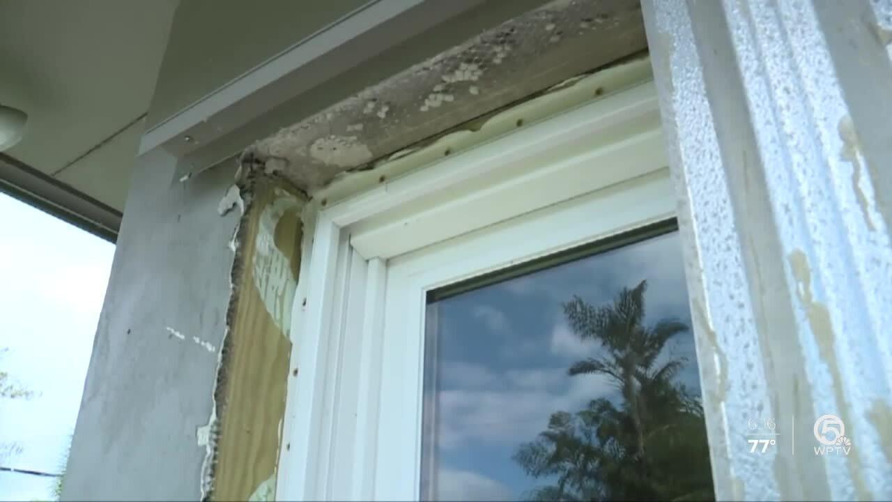 Arlene Wilson's window frames
