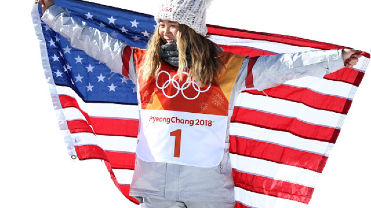 Chloe Kim wins gold, her dad wins hearts on social media