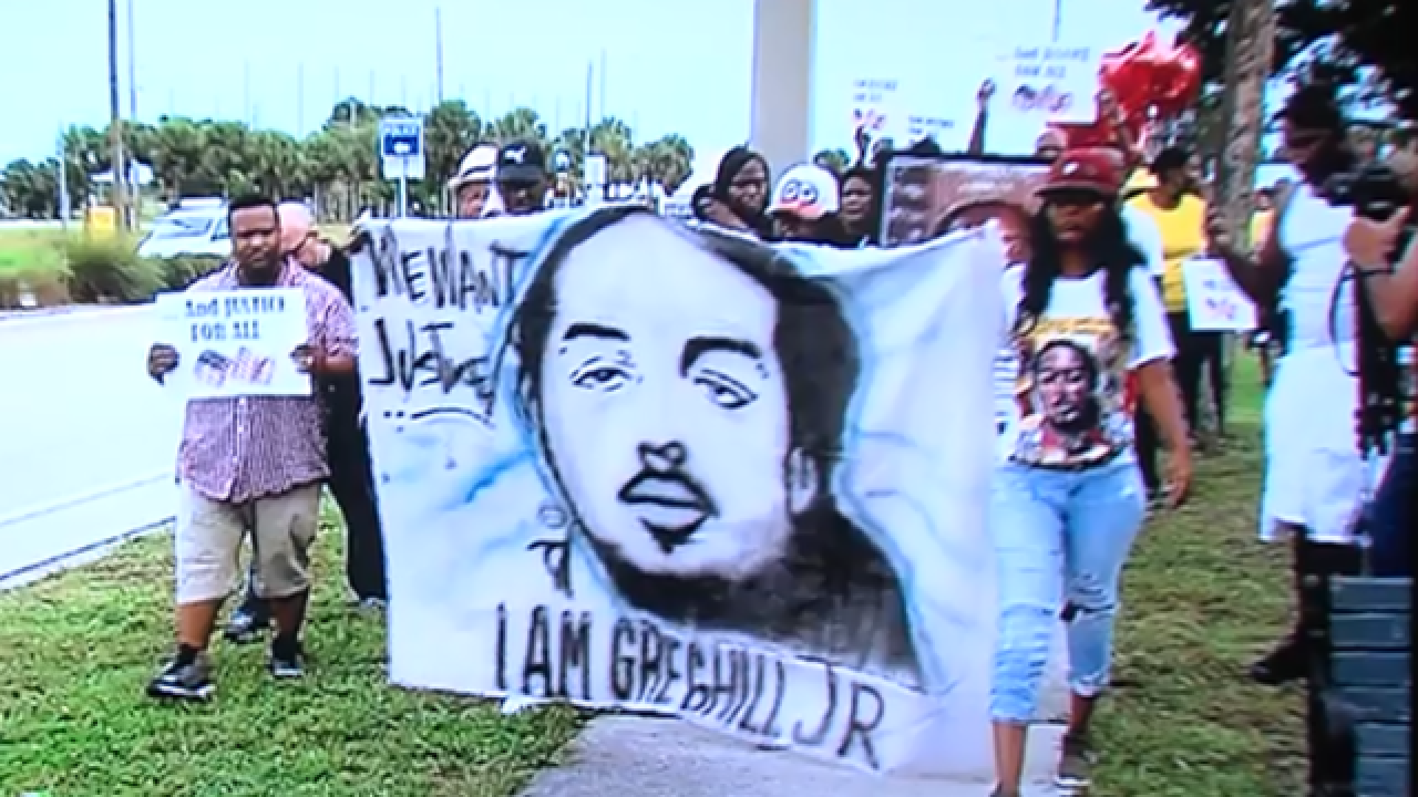 Community rallies for family of Greg Hill Jr., given $4 settlement after Hill was killed by deputy
