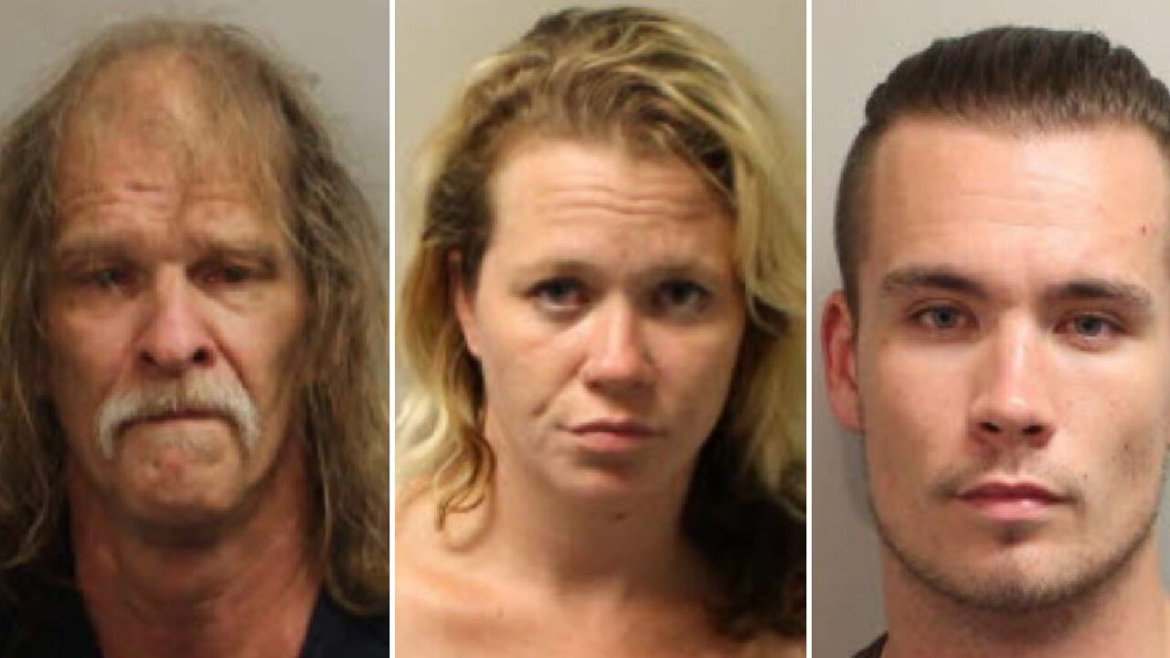 Traffic stop in Tallahassee leads to three arrests for drugs