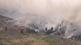 Moss Ranch Fire in Mission Valley tops 5,000 acres