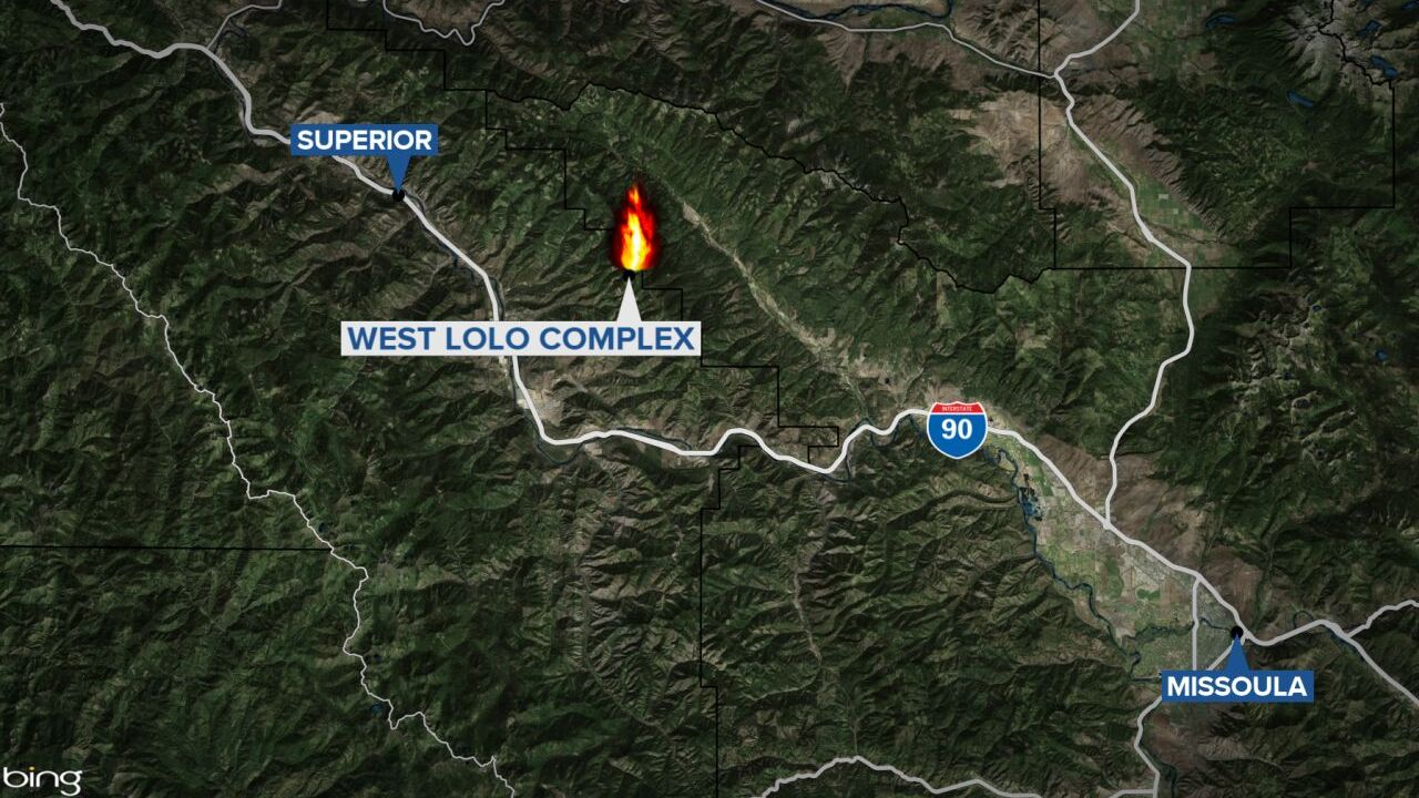 West Lolo Complex Fires