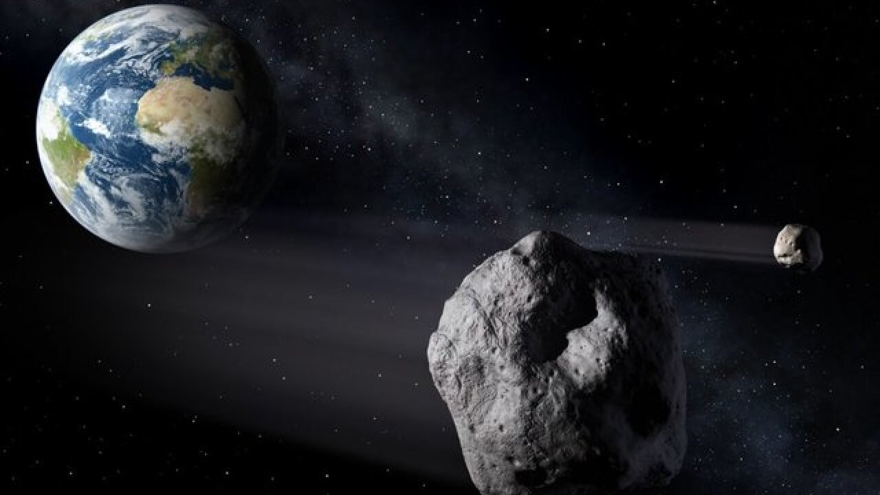 Asteroid the size of the Empire State Building could slam into earth in 2135