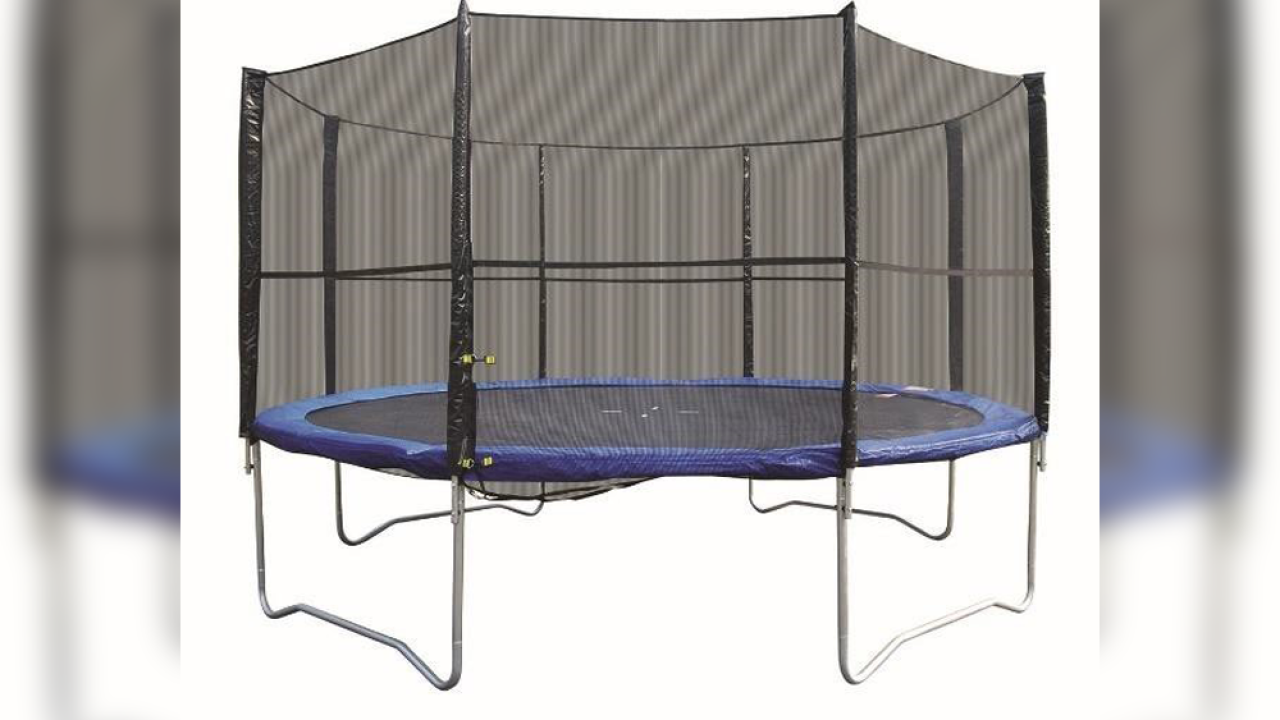 Trampolines sold on Amazon, Wayfair recalled due to fall, injury hazard