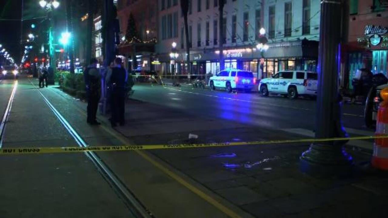 Shooting on the edge of the French Quarter leaves 10 injured