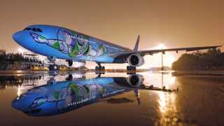 Photos: To infinity and beyond: On board the 'Toy Story'-themed airplane