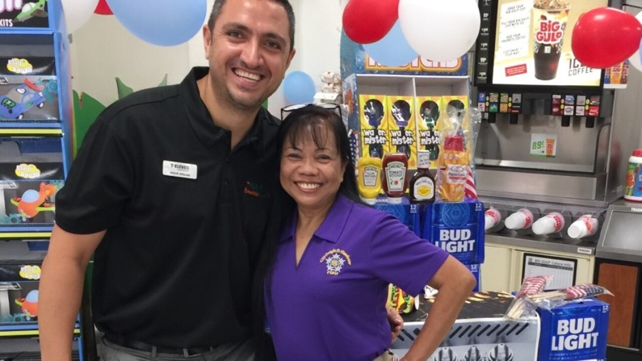 Chesapeake woman wins 7-Eleven franchise giveaway
