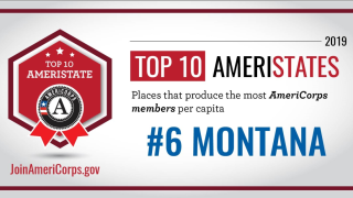 Montana ranks sixth for AmeriCorps members