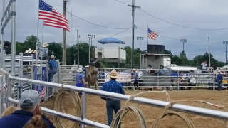 Rodeo at the Eaton County Fair