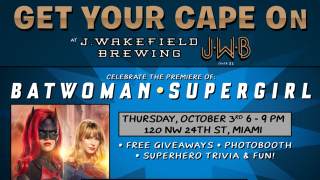 Get Your Cape On at J. Wakefield Brewing