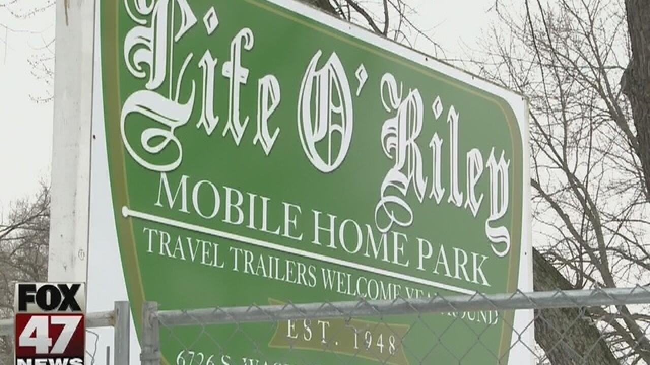 Neighbors sick of Life O'Riley mess