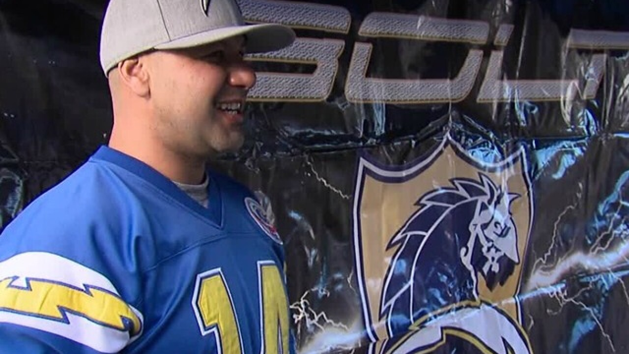 Chargers fans worry Sunday marks end of an era