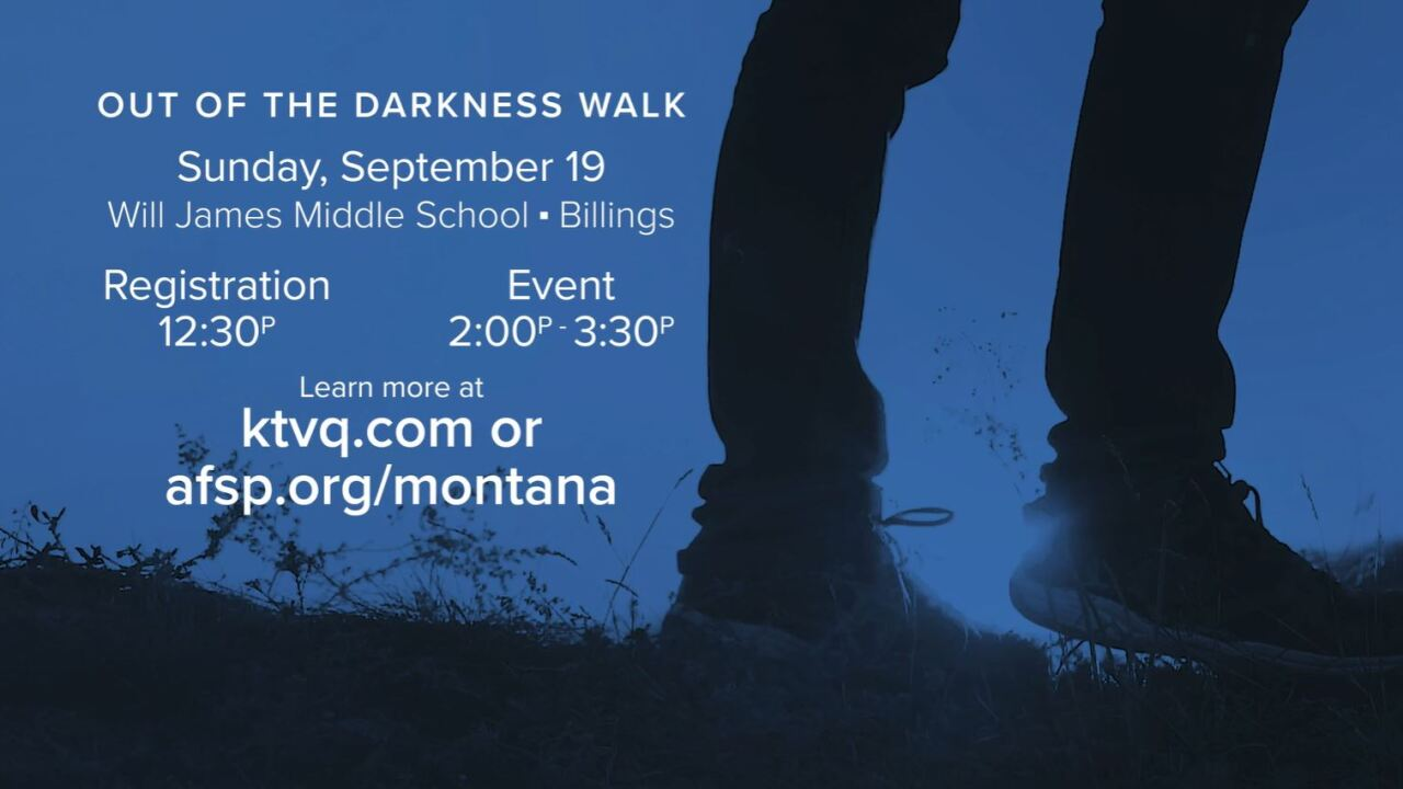 Register for 2021 Yellowstone Valley Walk to Fight Suicide