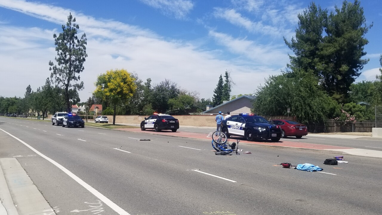 Bicyclist killed on Gosford Road