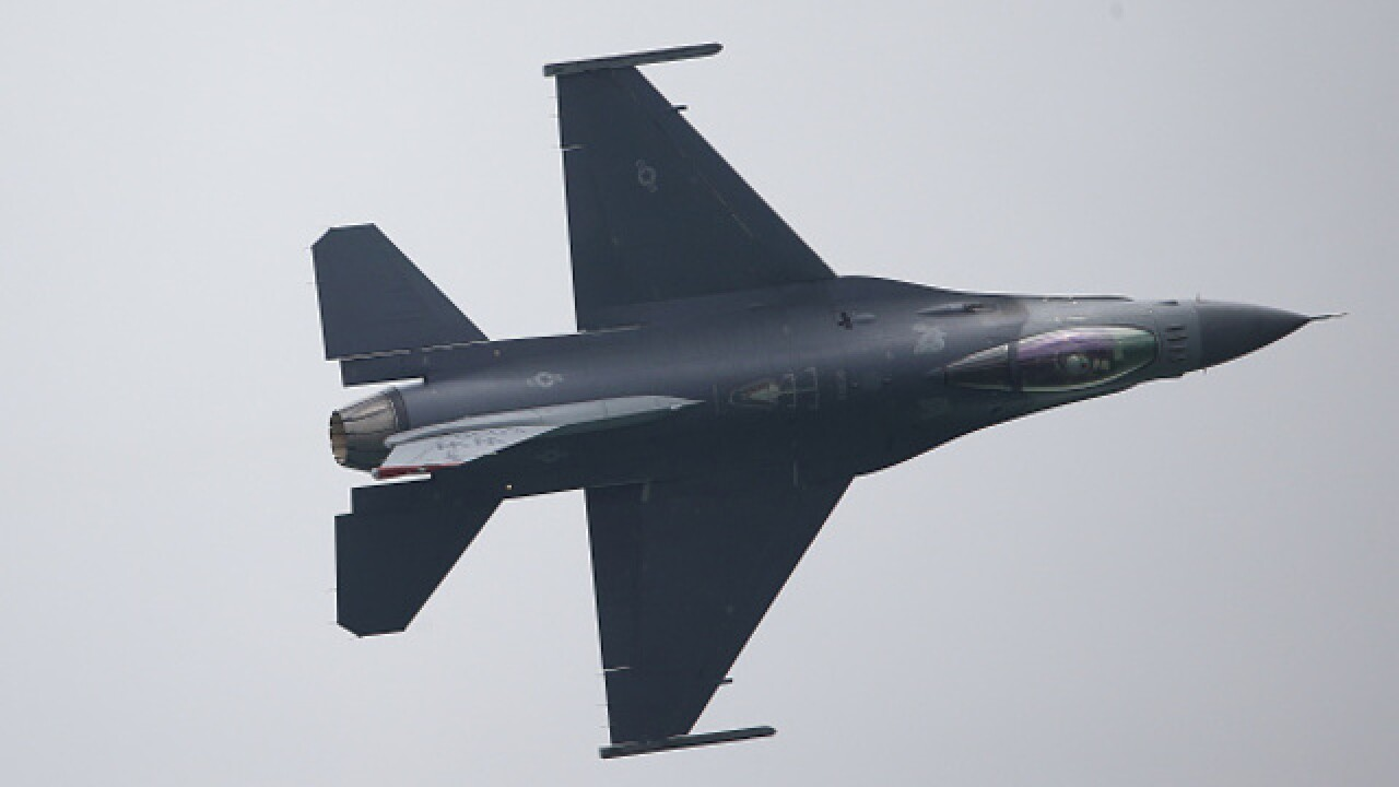 Don't be alarmed: F-16s conducting evening training flights this week in Greater Madison area