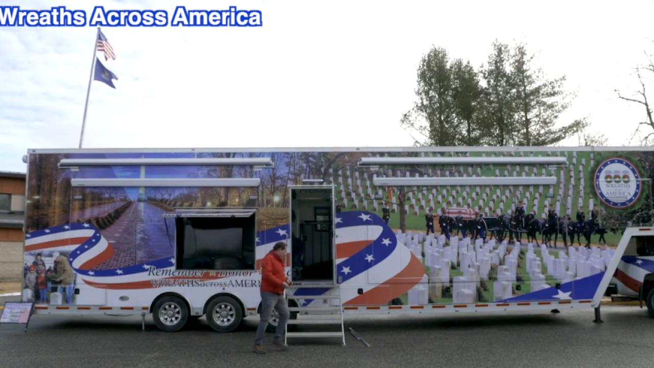 Wreaths Across America Mobile Education Exhibit