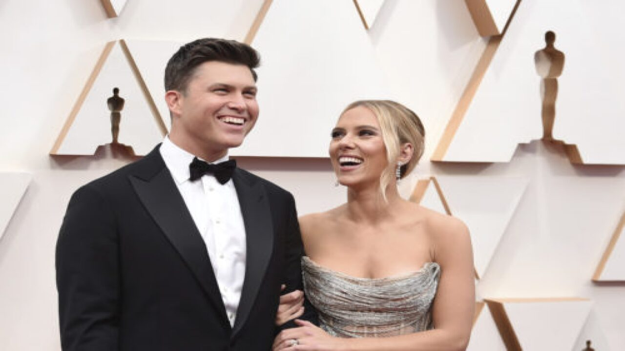 Scarlett Johansson And Colin Jost Got Married