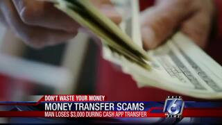 Don't Waste Your Money: Money transfer scams
