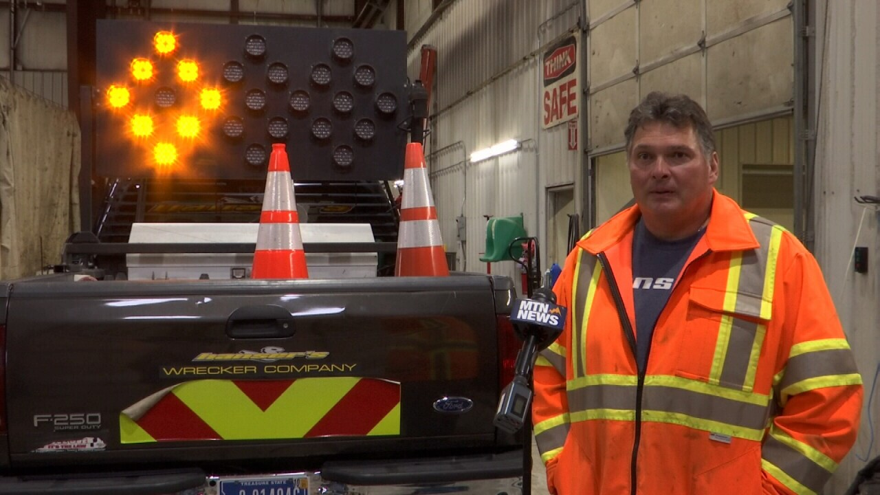 Move over and slow down: A message from Billings first responders after fatal tow truck crash